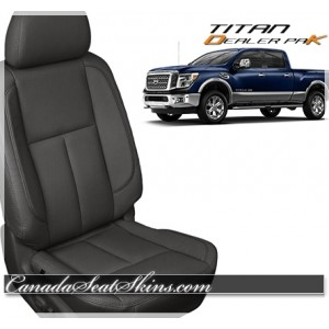 2016 - 2019 Nissan Titan Katzkin Dealer Pak Promo in Black