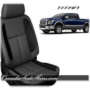 2016 - 2019 Nissan Titan Custom Katzkin Leather Seats
