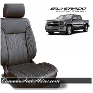 2016 - 2017 Chevrolet Silverado Zkintech Freestyle Katzkin Leather Seat Sale