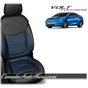 2016 - 2017 Chevrolet Volt Katzlin Blue Leather Seats