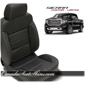 2014 - 2018 GMC Sierra Katzkin Limited Edition Leather Seats