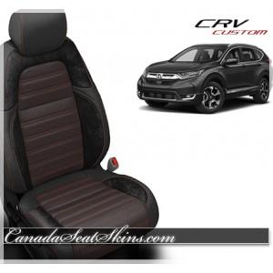 2017 - 2018 Honda CRV Katzkin Custom Leather Seats