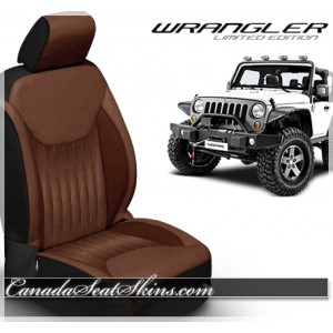 2013 - 2018 Jeep Wrangler Katzkin Aviator Limited Edition Leather Seats