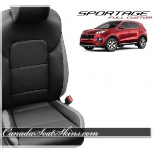 2017 - 2018 Kia Sportage Custom Katzkin Leather Seats