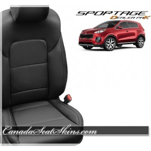 2017 - 2018 Kia Sportage Katzkin Dealer Pak Leather Upholstery