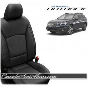2015 - 2018 Subaru Outback Katzkin Custom Leather Seats