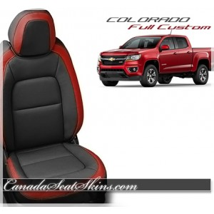 2015 - 2019 Chevrolet Colorado Katzkin Red Leather Seats