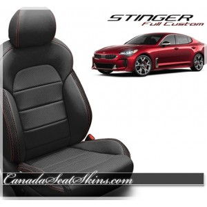 2018 - 2019 Kia Stinger Katzkin Custom Leather Seats
