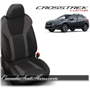 2018 - 2019 Subaru Crosstrek Katzkin Custom Leather Seats