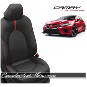 2018 - 2019 Toyota Camry Custom Katzkin Leather Seats