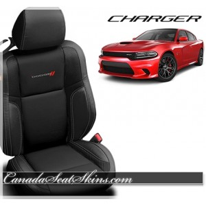 2015 - 2019 Dodge Charger Katzkin Leather Seats With Logos