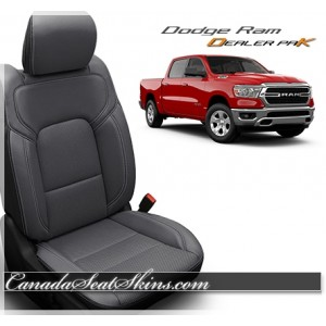 2019 - 2020 Dodge Ram Katzkin Leather Seat Promo Package Grey