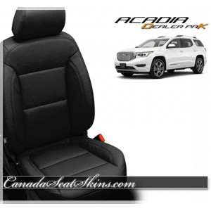 2019 GMC Acadia Dealer Pak Leather Upholstery Kit Black