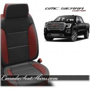 2019 GMC Sierra Custom Katzkin Leather Seats