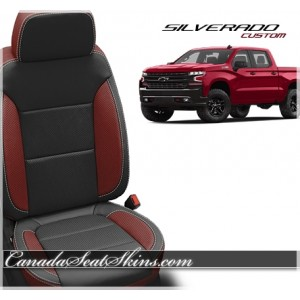 2019 Chevrolet Silverado Custom Katzkin Leather Seats