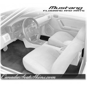 1979 - 1993 Ford Mustang Carpet Kit