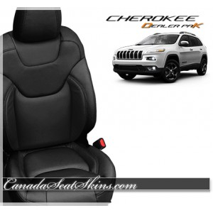 2014 - 2016 Jeep Cherokee Dealer Pak Leather Upholstery Kits