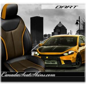 2013 Dodge Dark Katzkin Limited Edition Orange