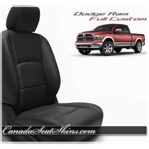 2009 - 2018 Dodge Ram Katzkin Custom Leather Seat Kits