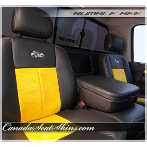 Dodge Ram Rumble Bee Leather Seats