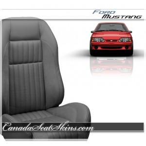 1987 - 1993 Ford Mustang Sport R Seat Kit Grey