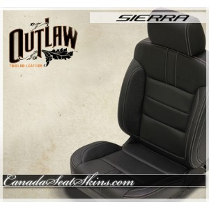 2014 - 2018 GMC Sierra Katzkin Outlaw Leather Seats
