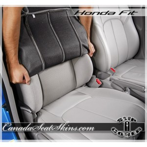 2007 - 2016 Honda Fit Clazzio Seat Cover Installation