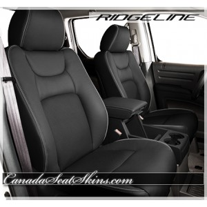 Honda Ridgeline Charcoal Leather Seats