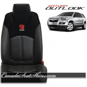Saturn Outlook Custom Katzkin Leather Seats