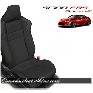 2013 - 2017 Scion FRS Black Leather Seats