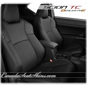 Scion TC Black Leather Seats
