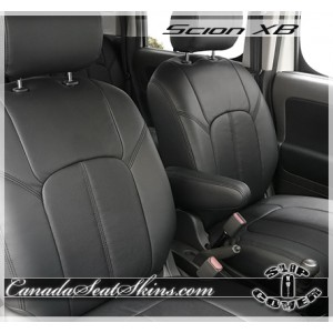 Scion XB Clazzio Seat Covers Black