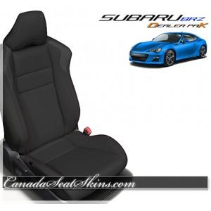 2013 - 2017 Subaru BRZ Black Leather Seats