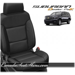 2015 - 2019 Chevrolet Suburban Katzkin Leather Seats