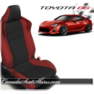 2016 - 2017 Toyota 86 Katzkin Leather Seats Red