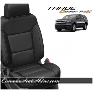 2015 - 2019 Chevrolet Tahoe Leather Seat Covers