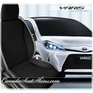2012 - 2016 Toyota Yaris Katzkin Leather Seats