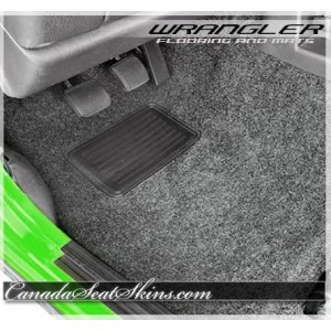 1987 - 1995 Jeep Wrangler Replacement Carpet