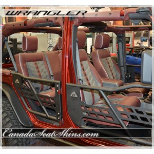 Jeep Wrangler TMI VXR Custom Seats