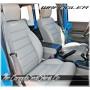 2007 - 2012 Jeep Wrangler Katzkin Custom White Leather Seat Sale