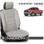 2009 - 2021 Dodge Ram DS Black and Pearl Custom Leather Seat Kits