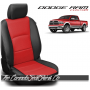 2009 - 2021 Dodge Ram DS Black and Salsa Custom Leather Seat Kits