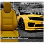 2010 - 2015 Chevrolet Camaro Maize Yellow Leather Faces