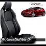 2011 - 2016 Honda CRZ Katzkin Black Leather Seat Sale