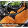 2011 - 2013 Volvo S60 Katzkin Leather Seats Orange
