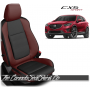 2013 - 2016 Mazda CX5 Sport Custom Medium Red Leather Seats