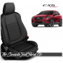 2013 - 2016 Mazda CX5 Sport Custom Black Leather Seats