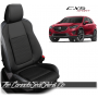 2013 - 2016 Mazda CX5 Sport Custom Silver Leather Seats