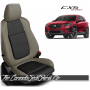 2013 - 2016 Mazda CX5 Sport Custom Puddy and Black Leather Seats