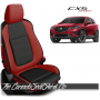 2013 - 2016 Mazda CX5 Sport Custom Salsa Red Leather Seats